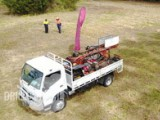 Geotechnical Auger Drill Rig on a Great Fuso Canter 4 x 4 6500kg GVM  Truck